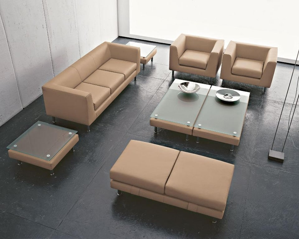 cube-sofas-cube-sofas-cube-sofas-Italian designer office sofas in light tan leather