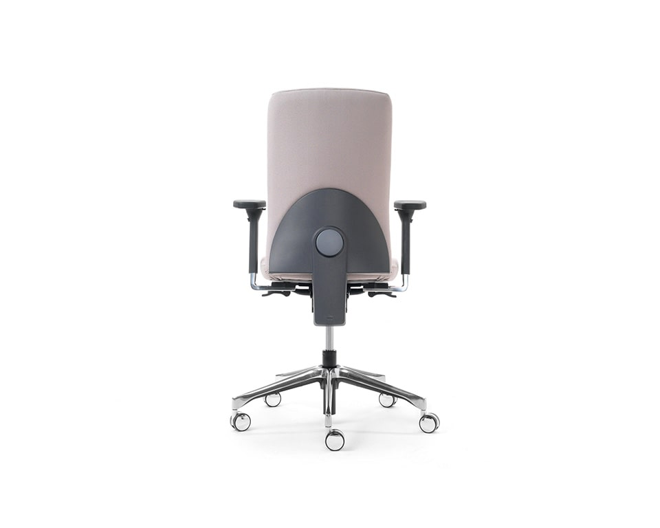 eclipse-chairs-executive fully adjustable task chair rear view