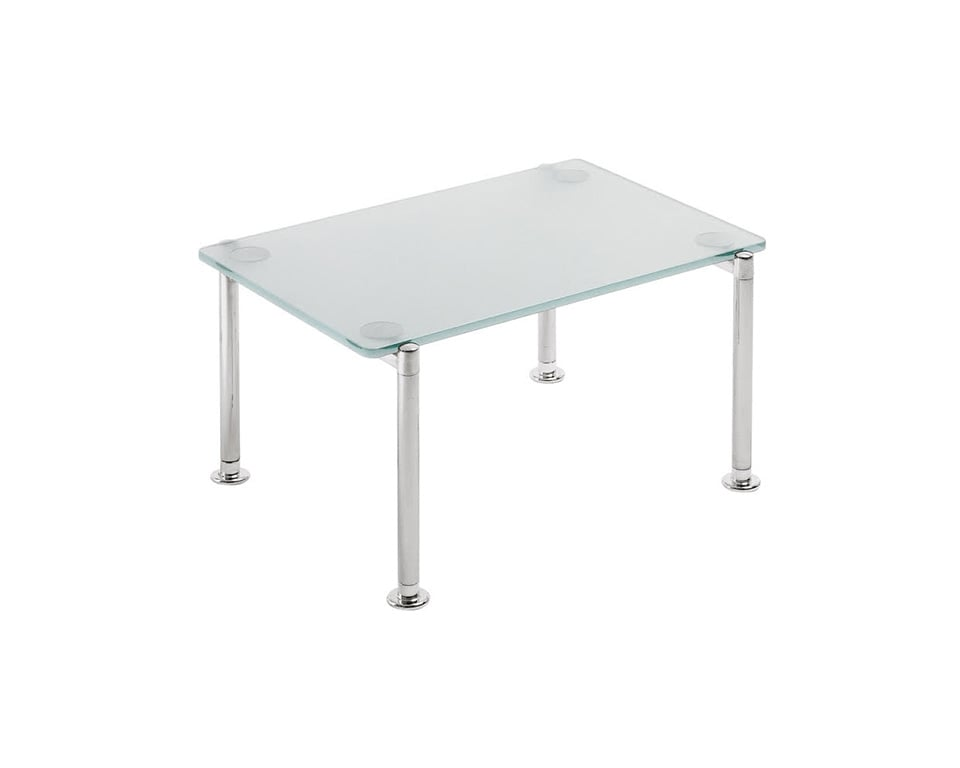 momo-rectangular acid etched glass coffee tables