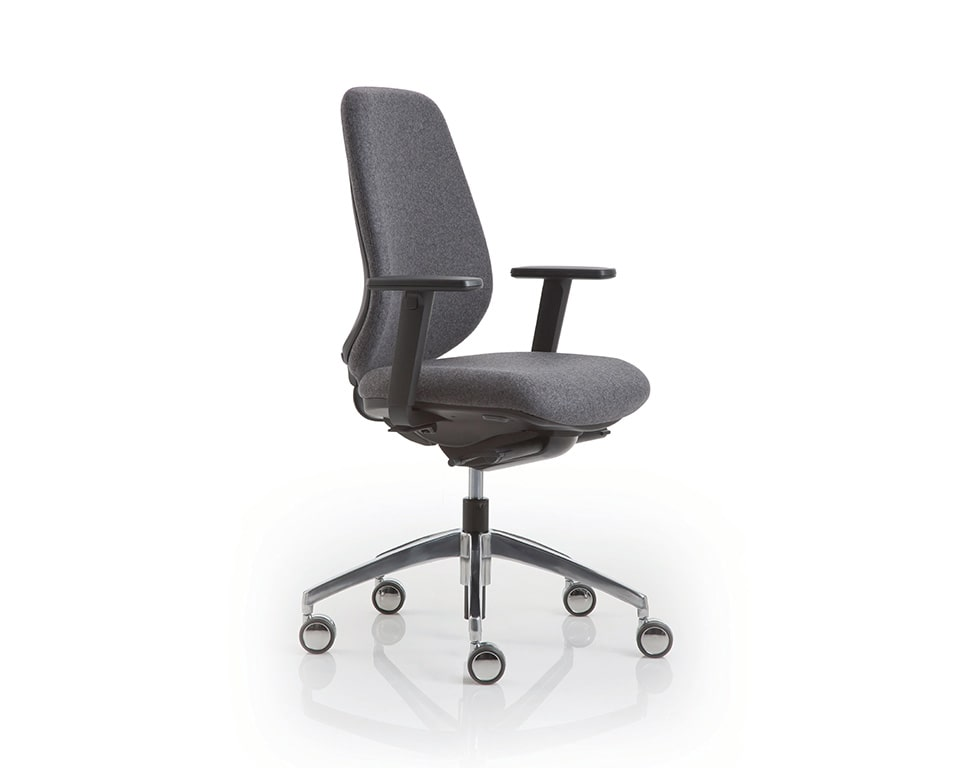 pratica-chairs-pratica-chairs-7- Italian task office chairs in grey fabric with arms
