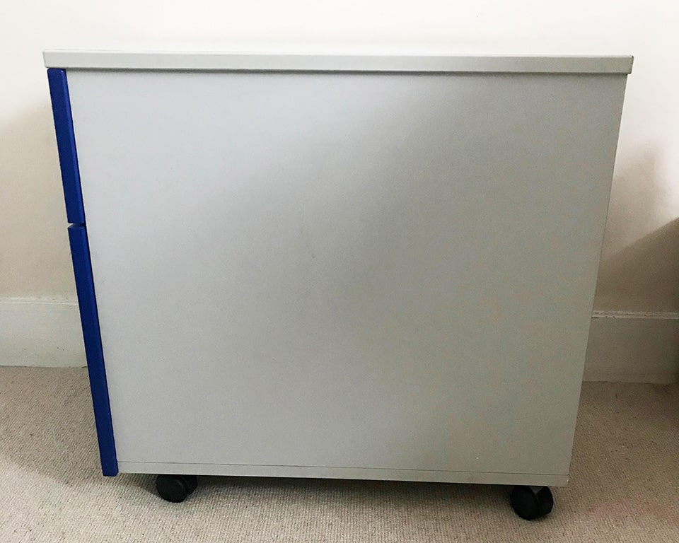 High quality under desk storage pedestals with 3 drawers or a two drawer filing model