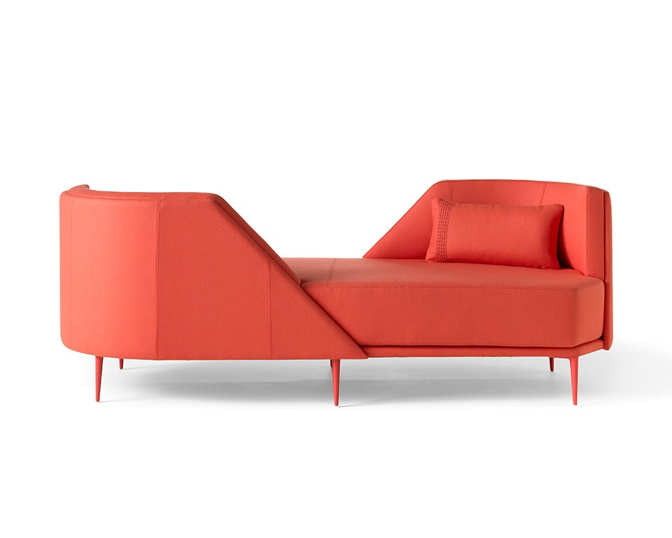Pergy large two seat lovers style sofa from Italy