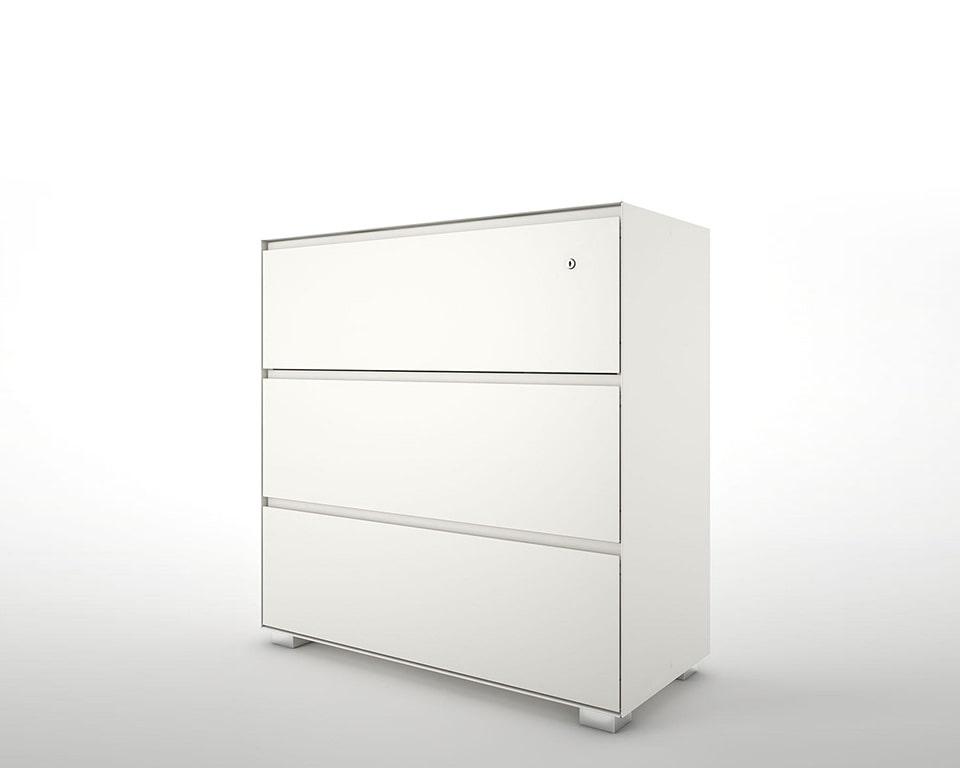 primo steel designer filing cabinets in white