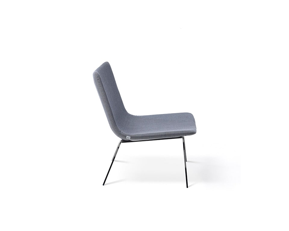 sotai occasional designer arm chair in fabric or leather