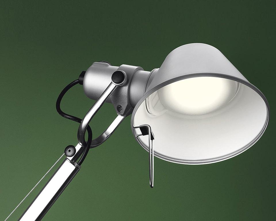Tolomeo LED adjustable desk lights for your executive desks or bedside tables