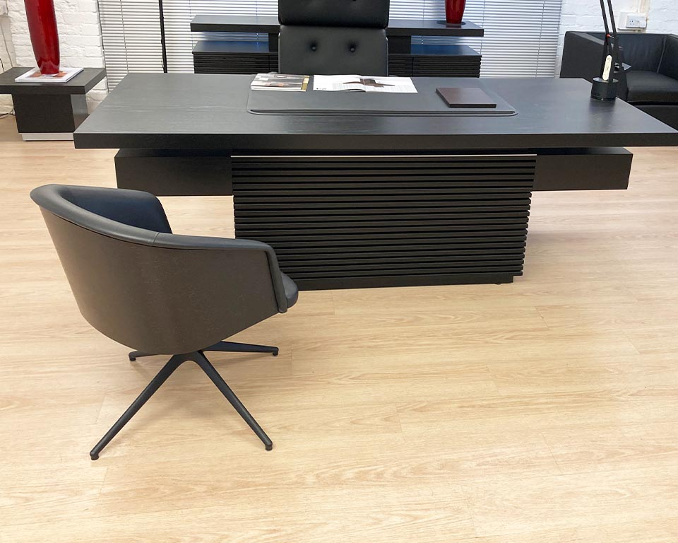 Rica premium quality Italian visitors chairs to match Nesi high back executive chairs-and Taiko executive desks