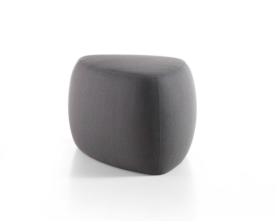 Top Quality Soft seating Pouffe - Nebu are large organic pouffe seating for office break out areas
